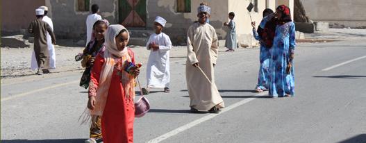 Einheimische Oman
