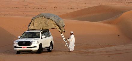 Oman Fahrzeug Rooftop tent