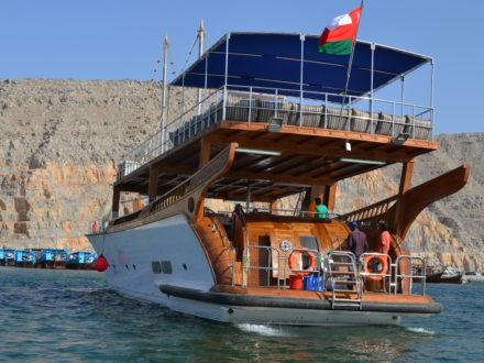 Rubba Yacht Oman Musandam Kreuzfahrt