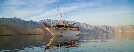 Musandam Kreuzfahrt Oman Fjorde