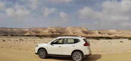 Mietwagenrundreise Oman Allrad off-road