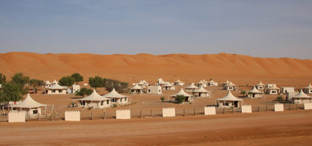 Desert Nights Camp Oman Wüstencamp de Luxe