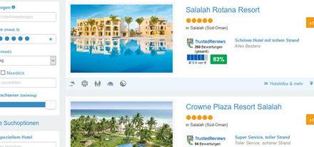 Oman online buchen